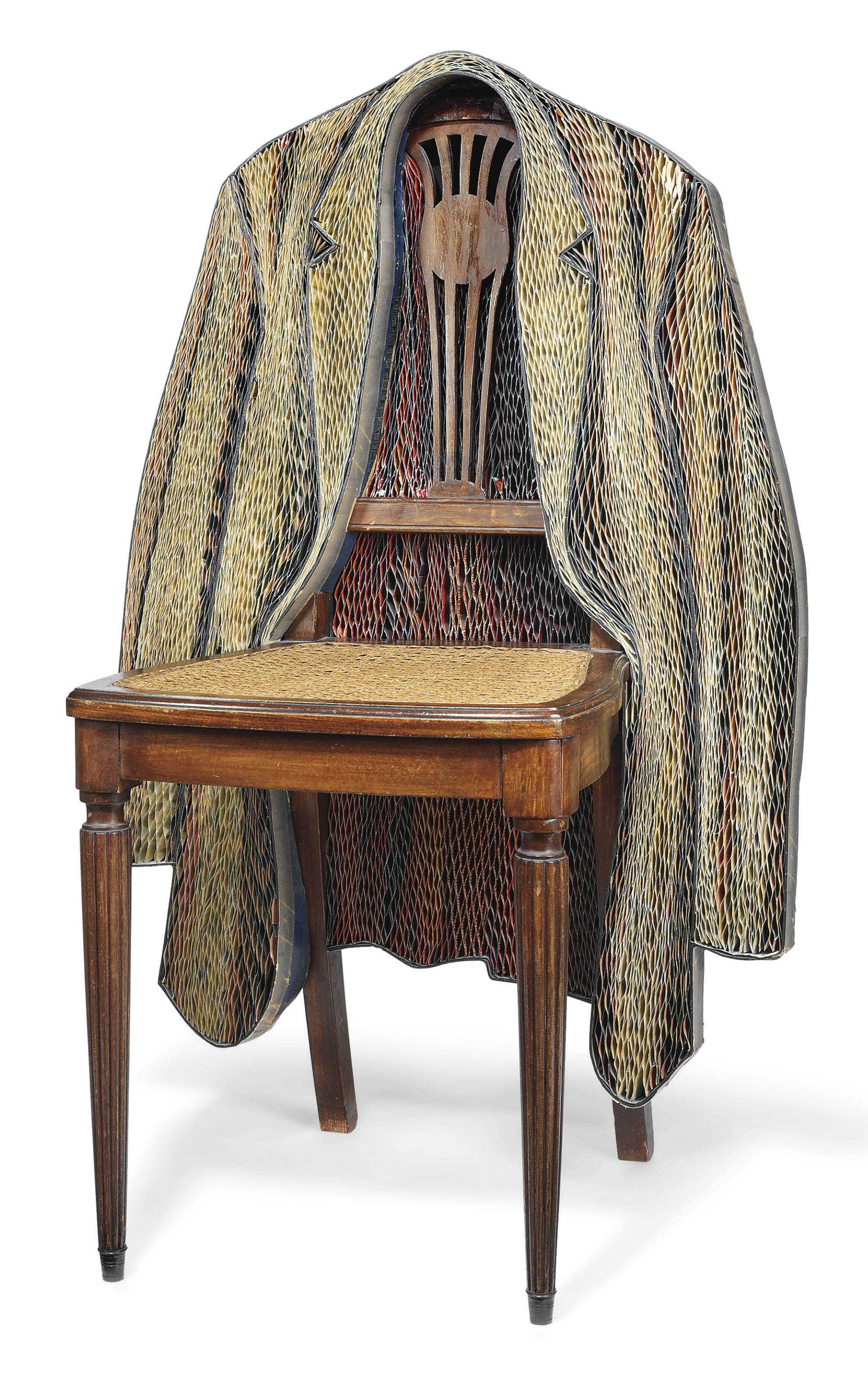 Jacket on the Back of a Chair