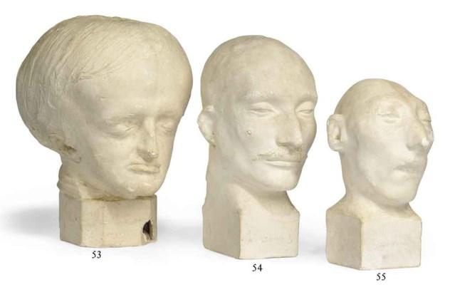 A phrenological bust
