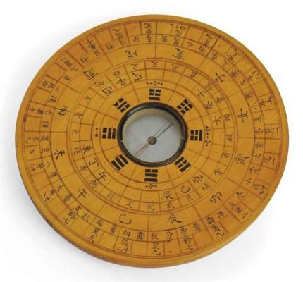 A geomancer's compass