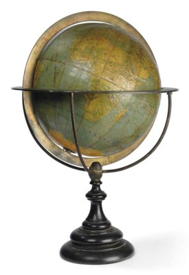 An early relief globe