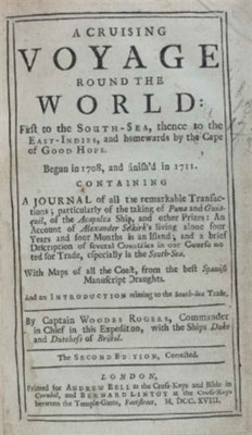ROGERS, Woodes (d. 1732). A Cr