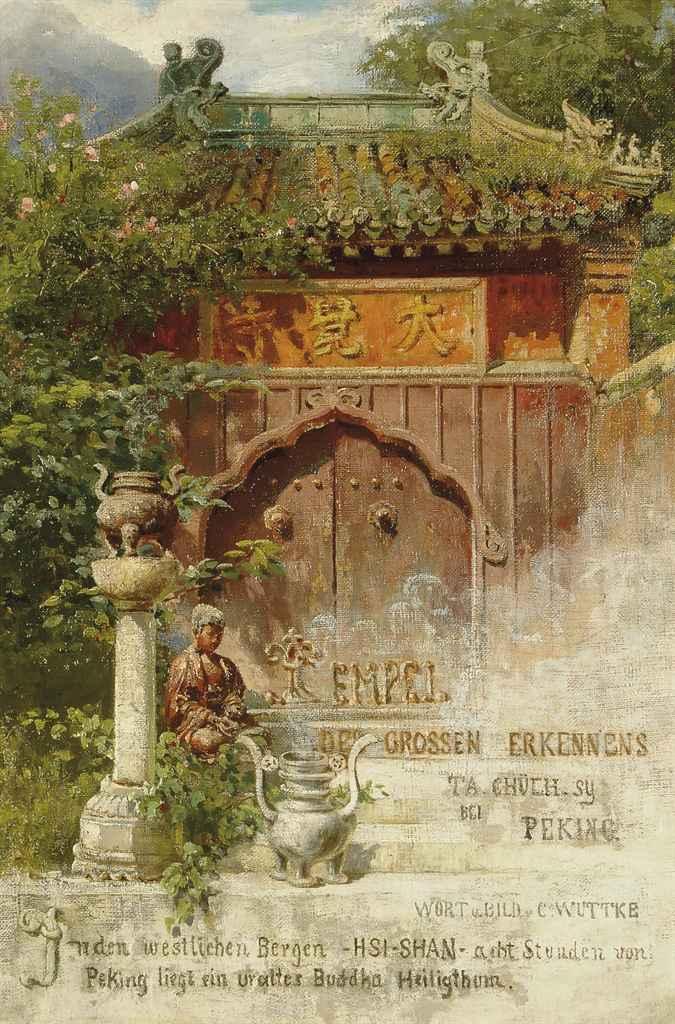A holy shrine to Budda
