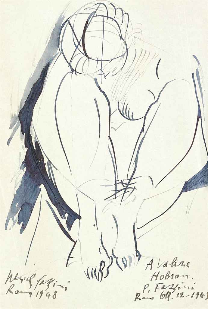 Two nude studies of Valerie Hobson (one illustrated)