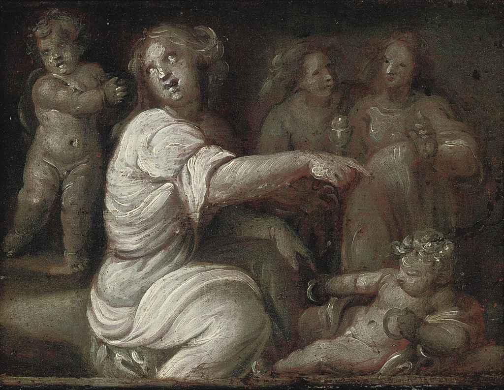 Allegorical figures