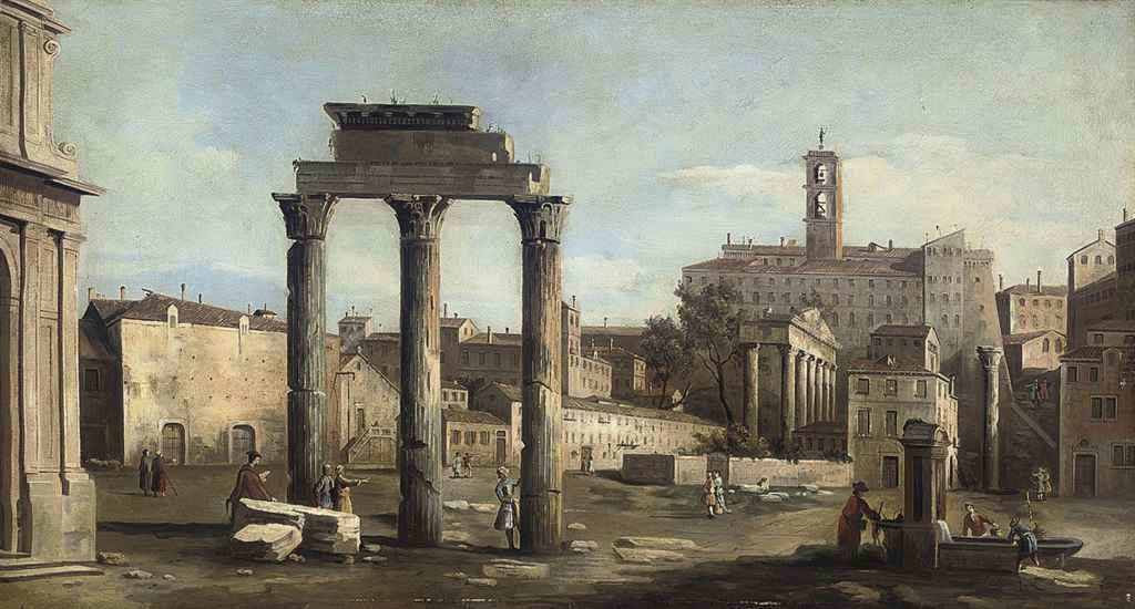 The Forum with the Temple of Castor and Pollux, Rome