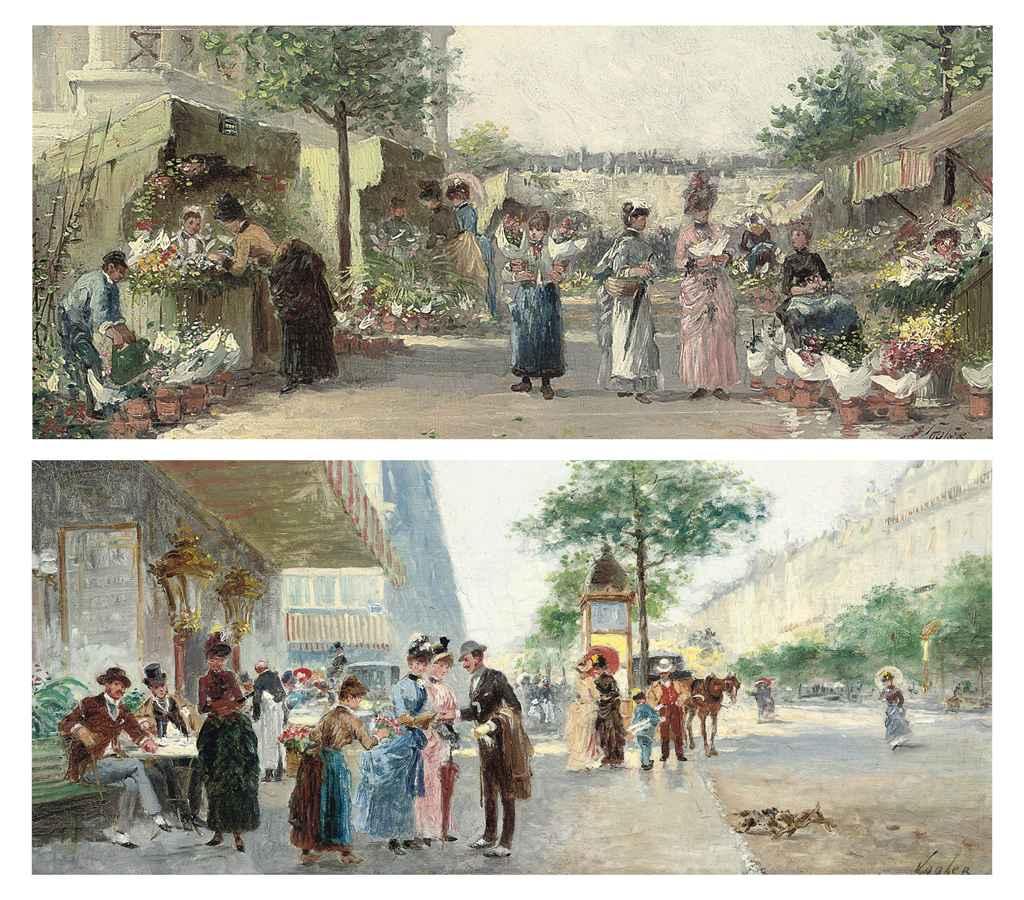 Boulevard des Capucines; and À la Madeleine
