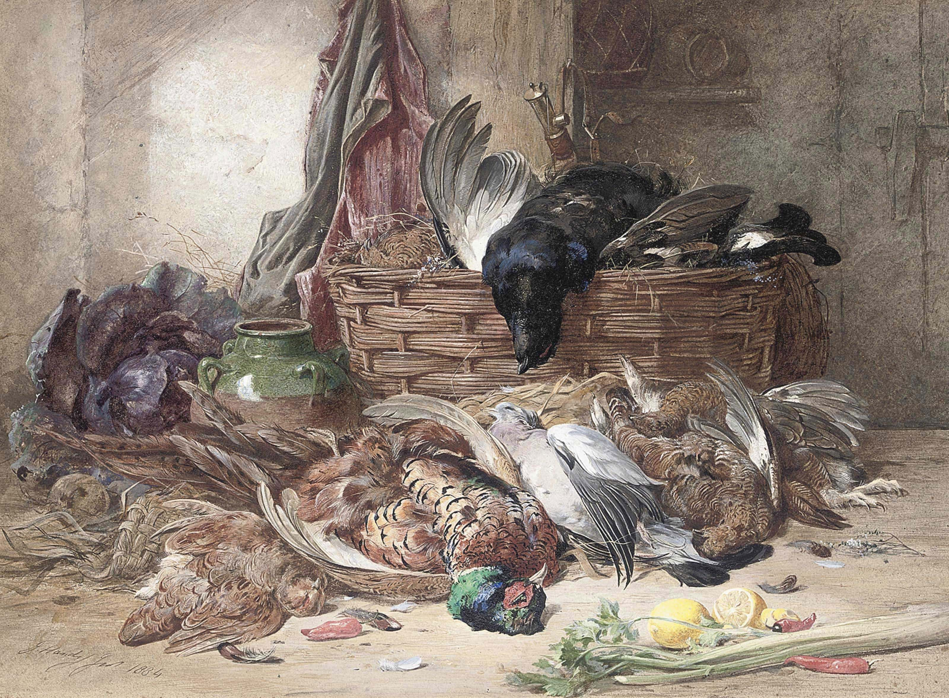 The gamekeeper's parlour