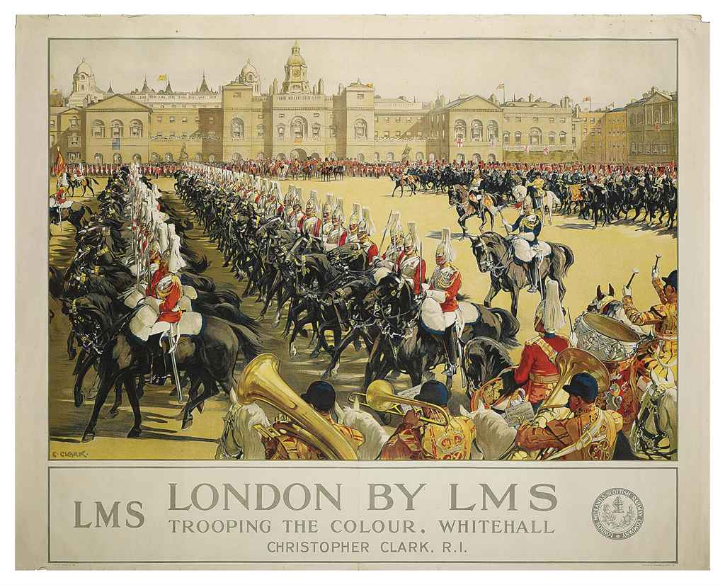 LONDON BY LMS, TROOPING THE COLOUR
