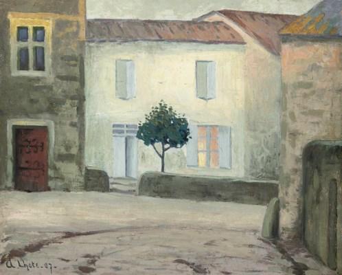 Andr lhote 1885 1962 la maison blanche christie 39 s for Andre maurois la maison
