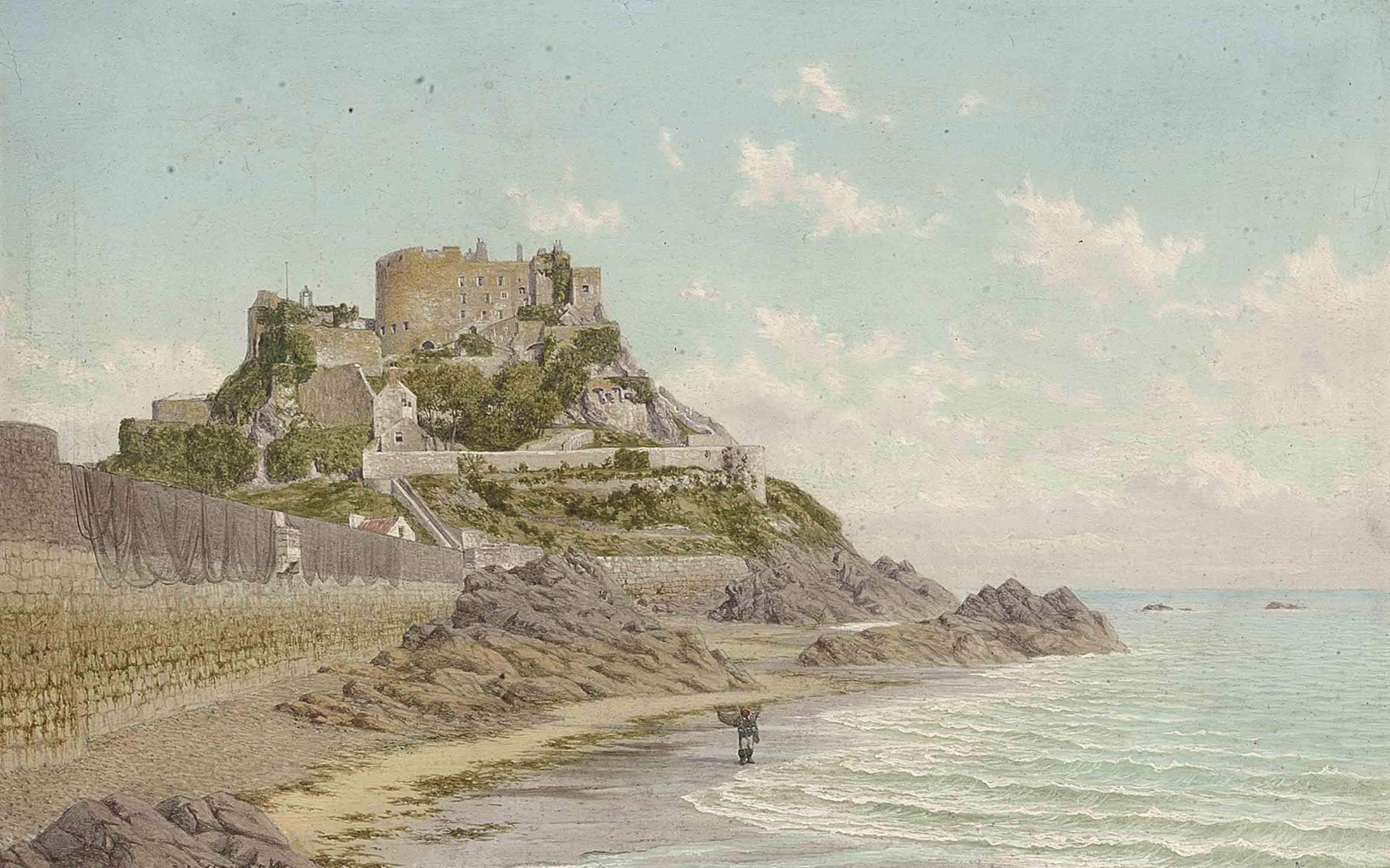 Mont Orgueil Castle, Jersey