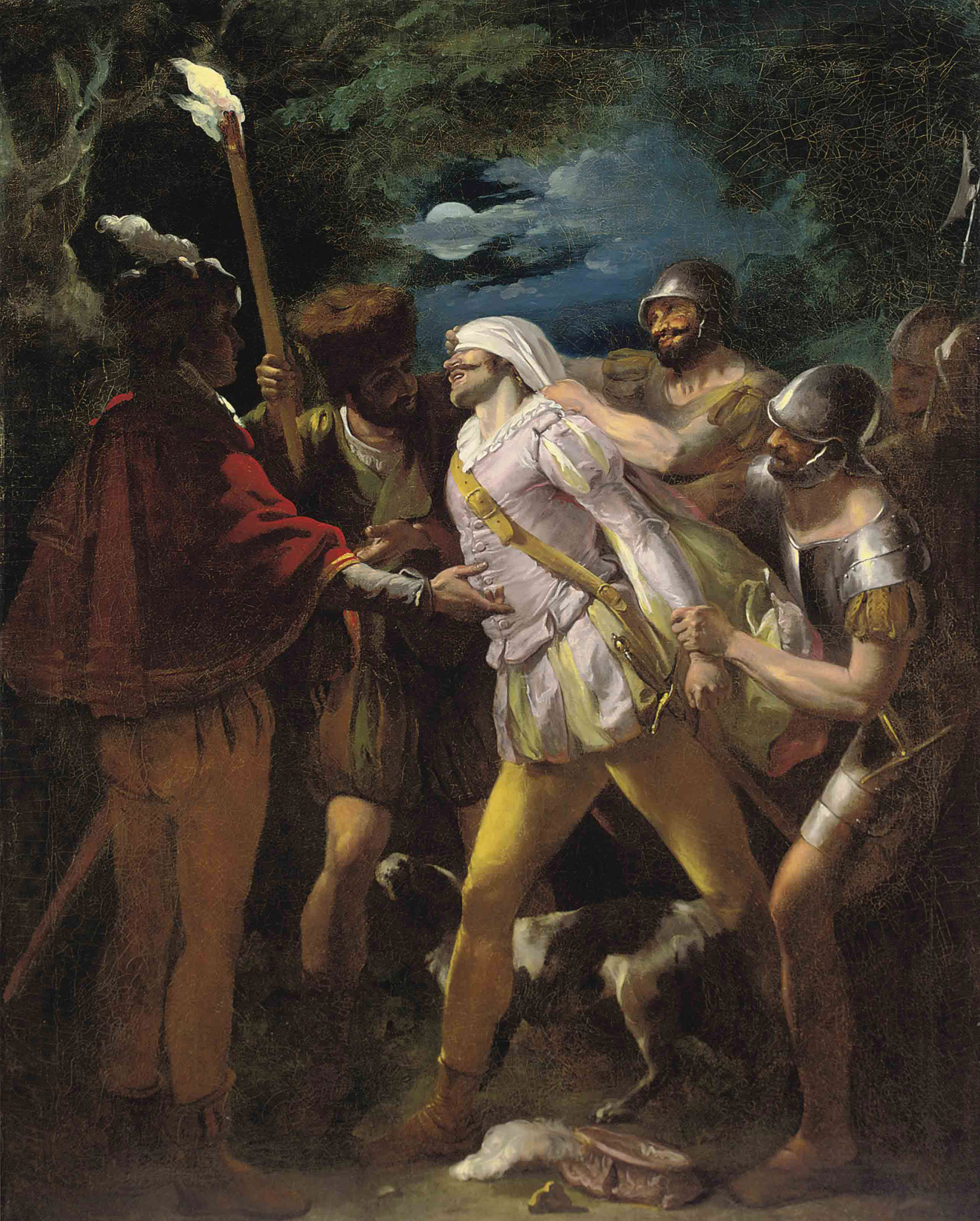 The Abduction of Parolles, from 'All's well that ends well'