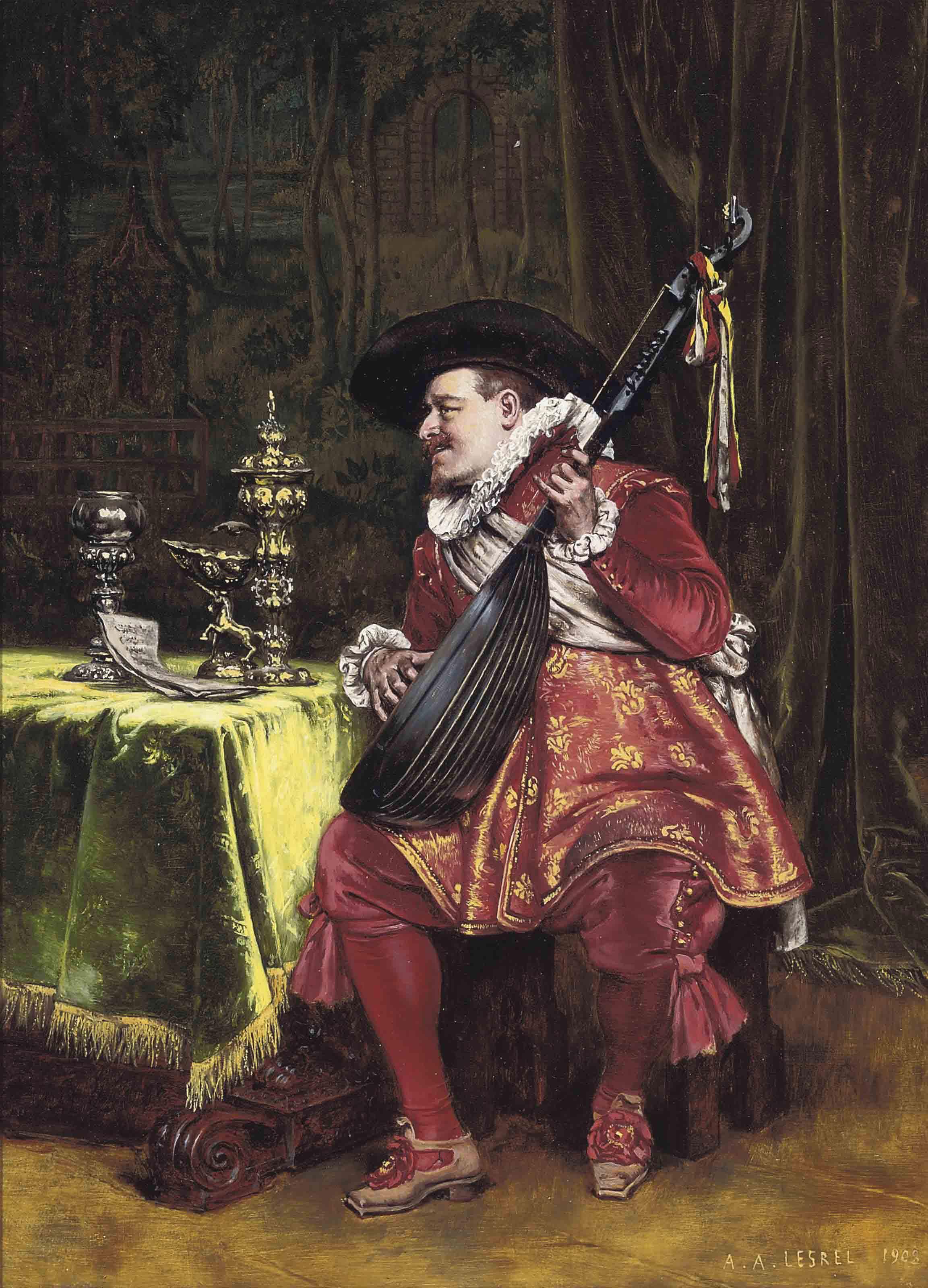 The Mandolin serenade