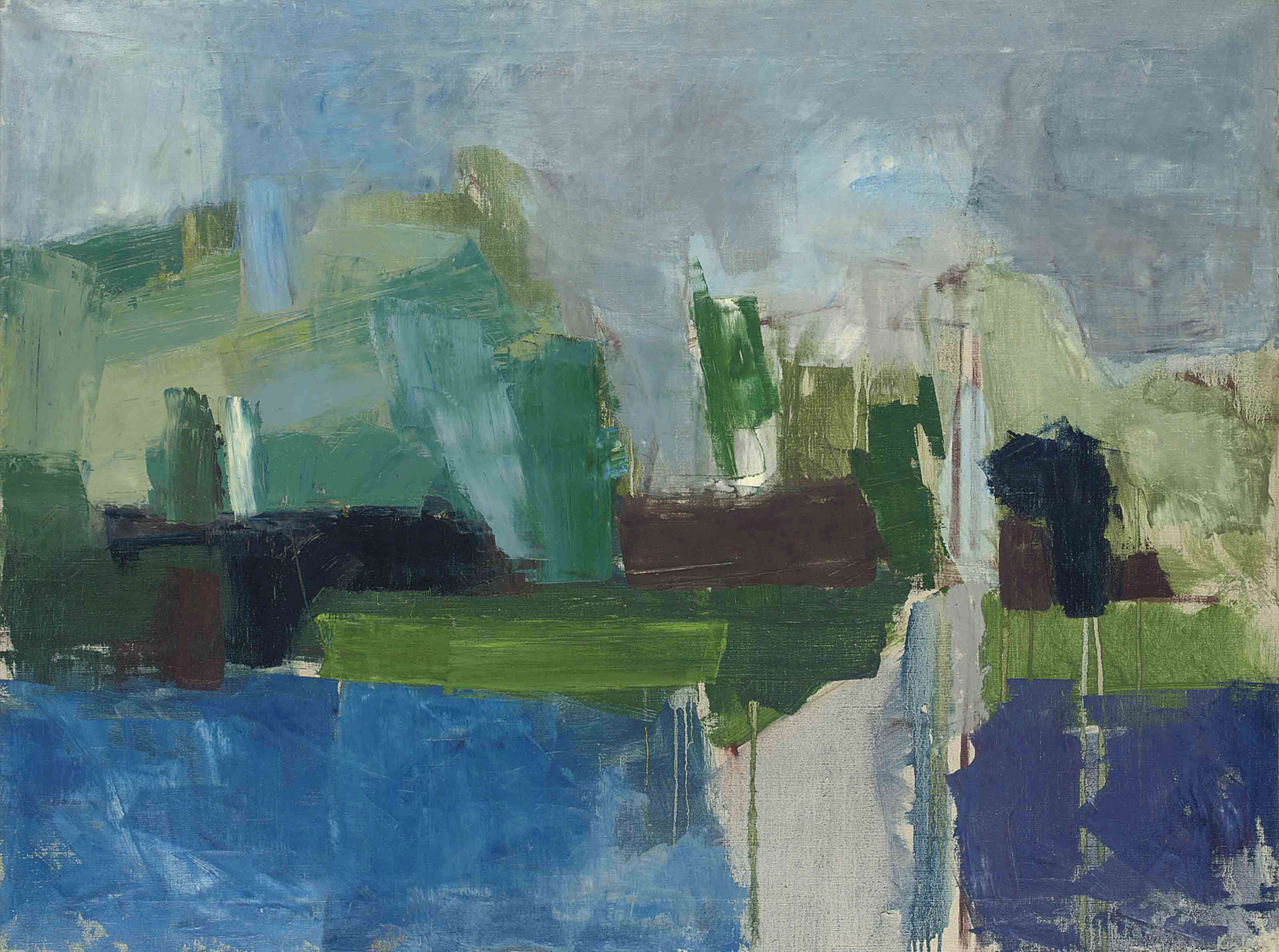 Green and Blue Landscape (The Serpentine)
