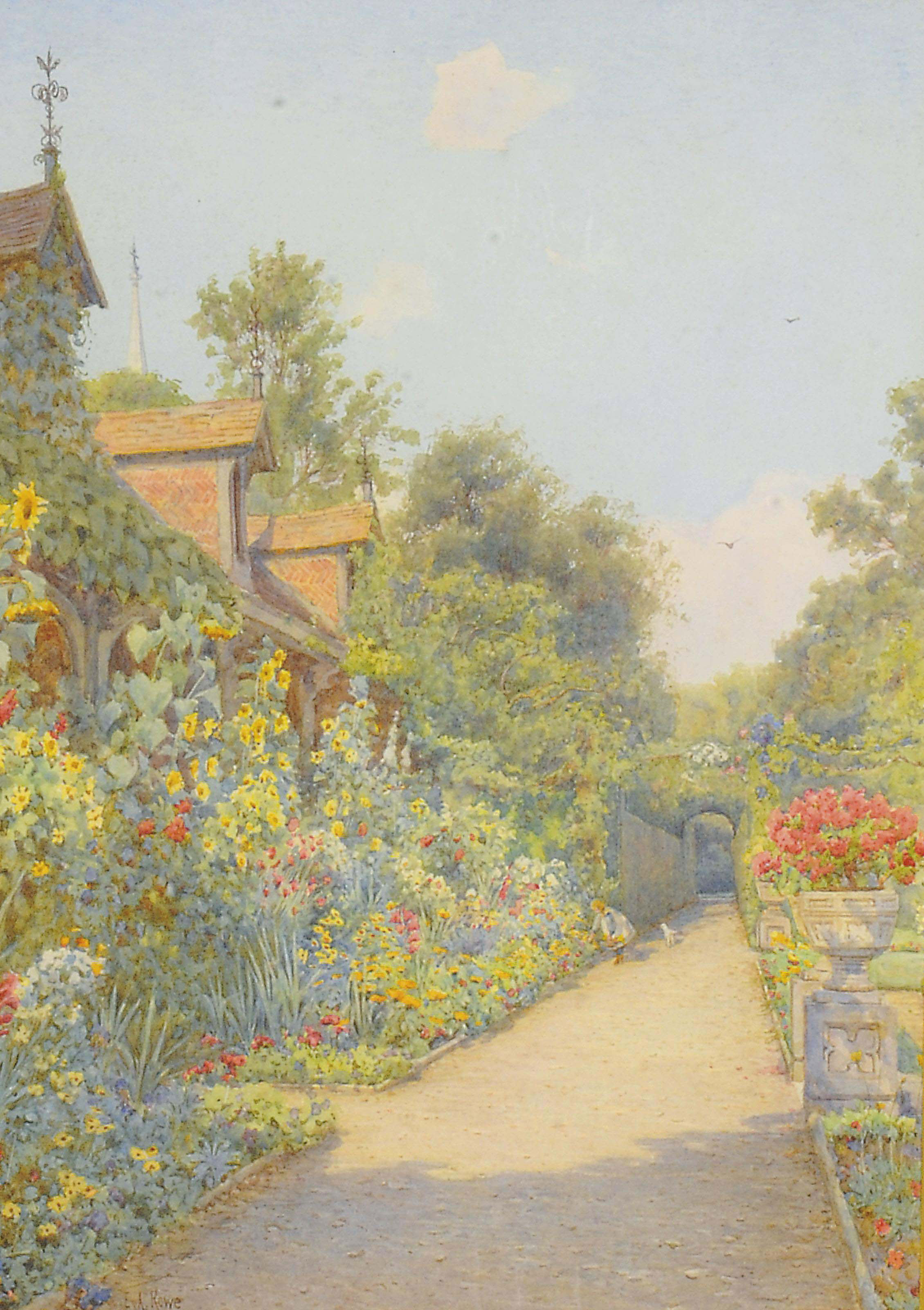 The Monk's Garden, Ashridge