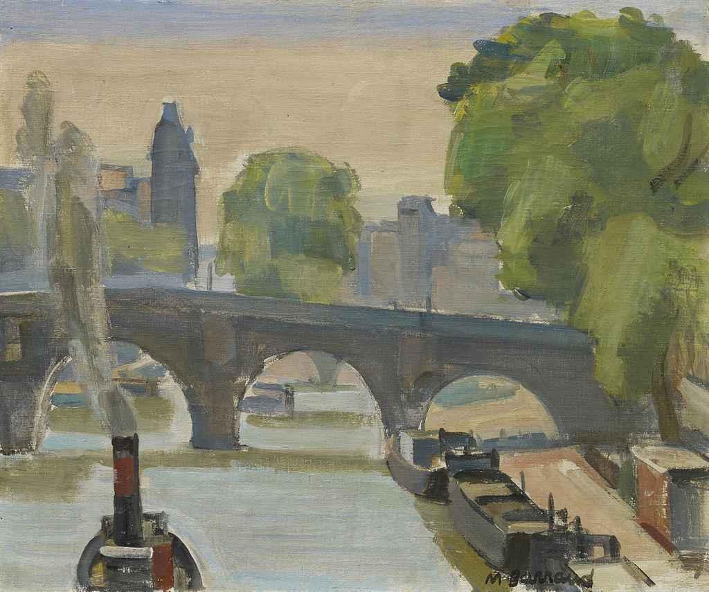 Seine in Paris mit Pont Neuf