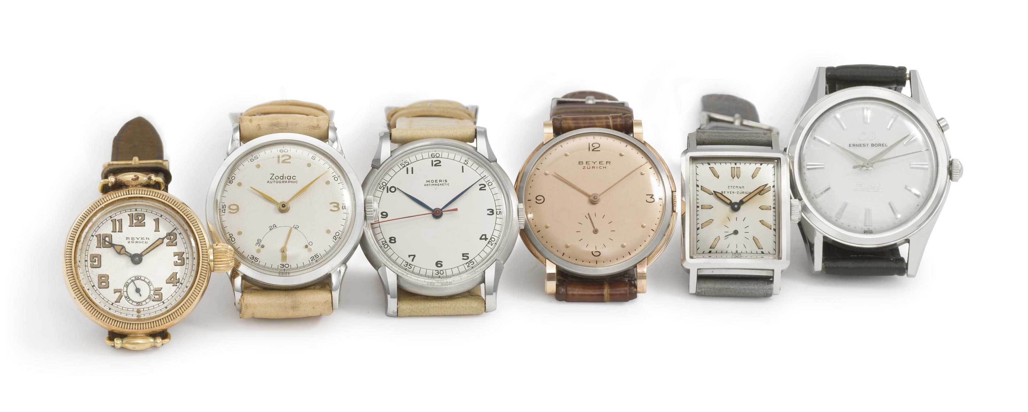 A lot of 18 wristwatches