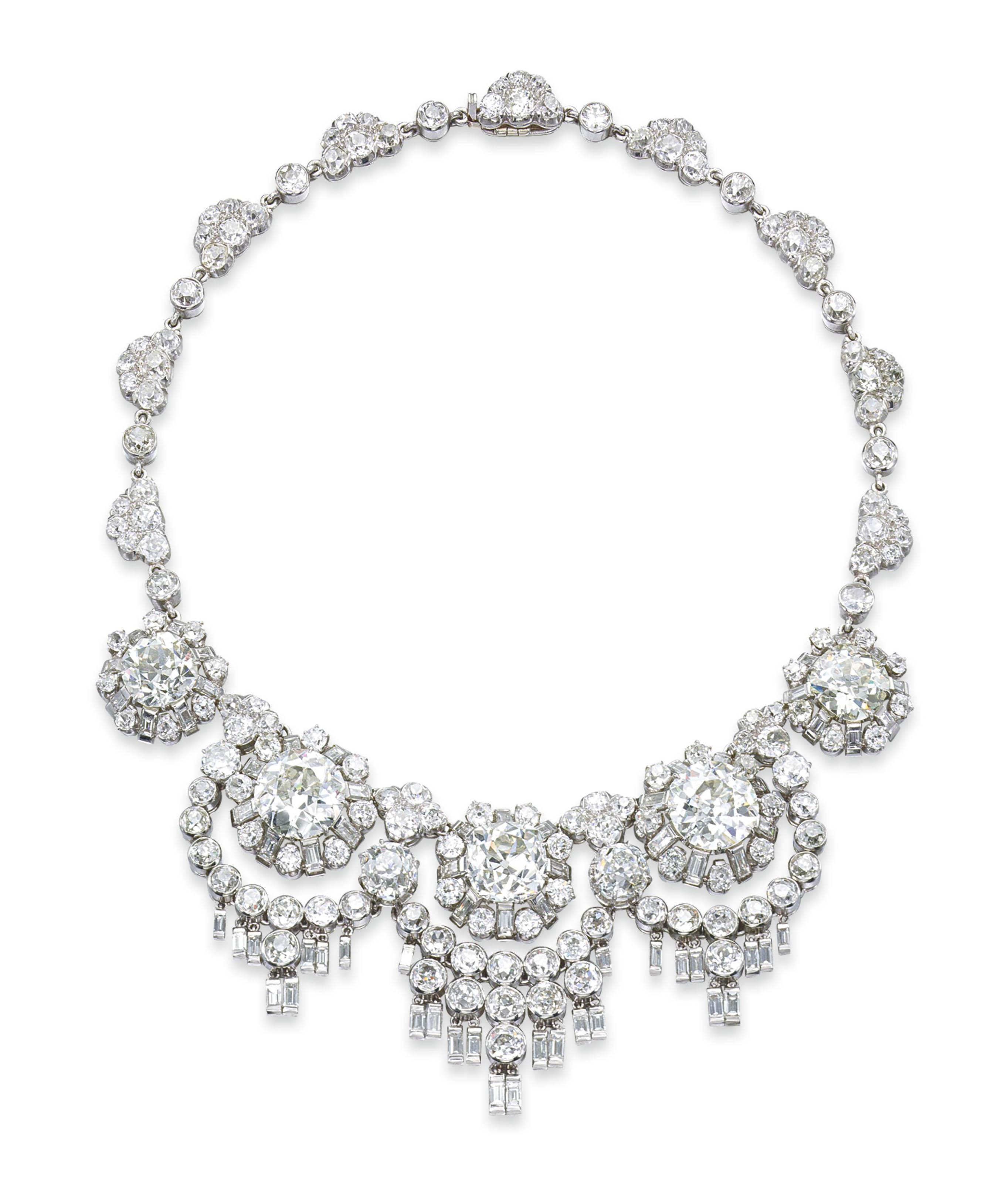 A UNIQUE DIAMOND NECKLACE, BY RENÉ BOIVIN