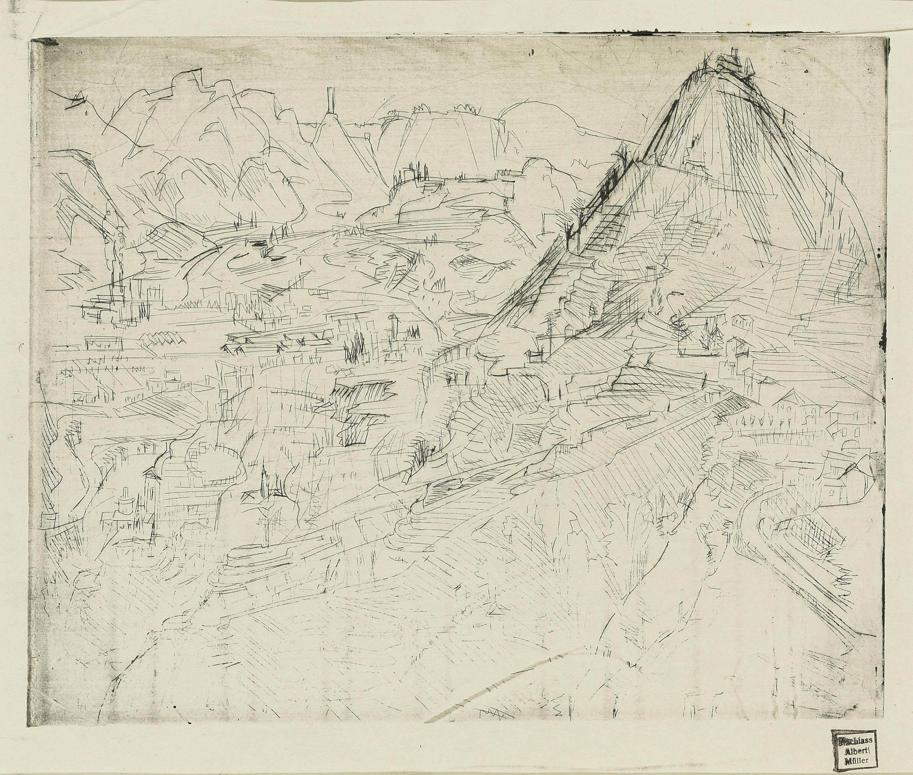 Tessinerlandschaft II, 1926