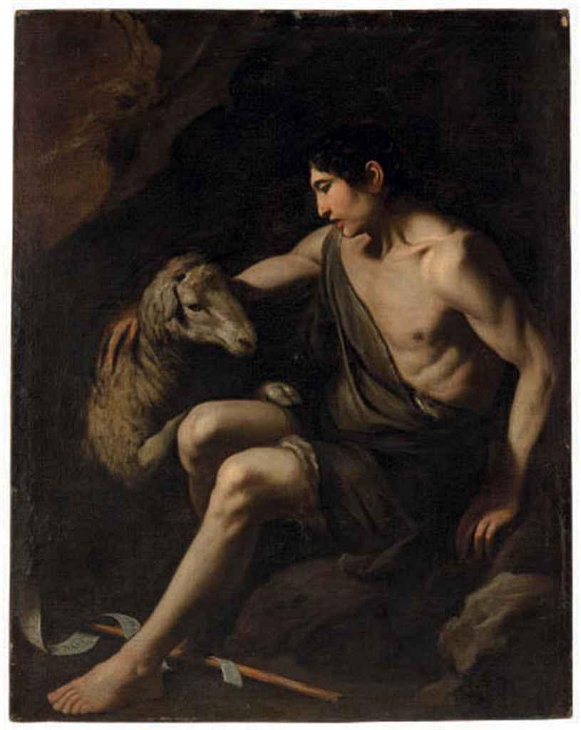 Saint John the Baptist with a lamb