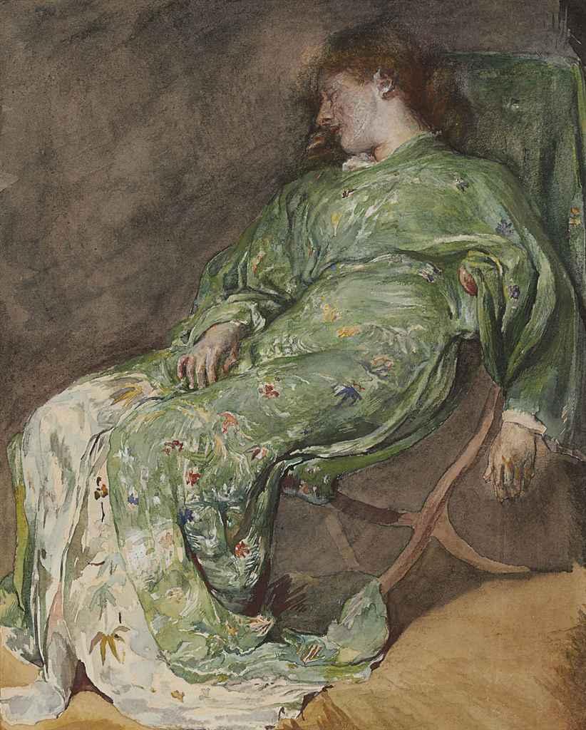 Sleep (Study of Female Figure Asleep)
