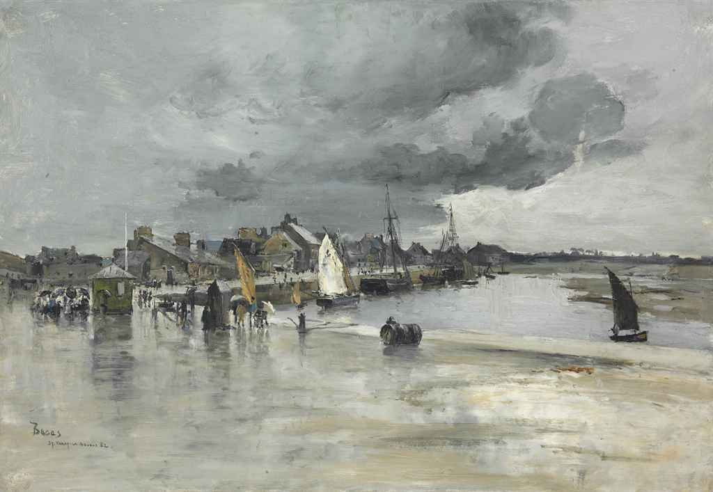 Harbour at St. Vaast, The Hague