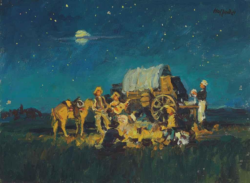 Chuck Wagon Campfire