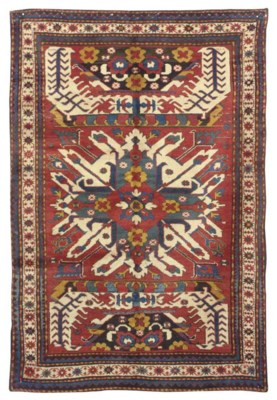 AN EAGLE KARABAGH RUG,