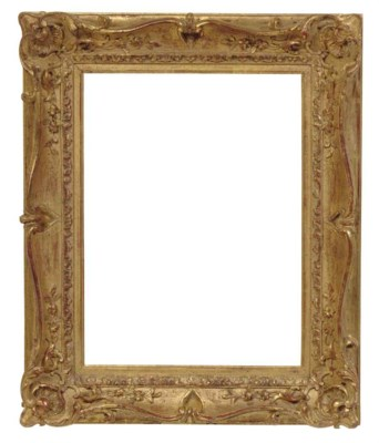 A GROUP OF SIX GILTWOOD FRAMES