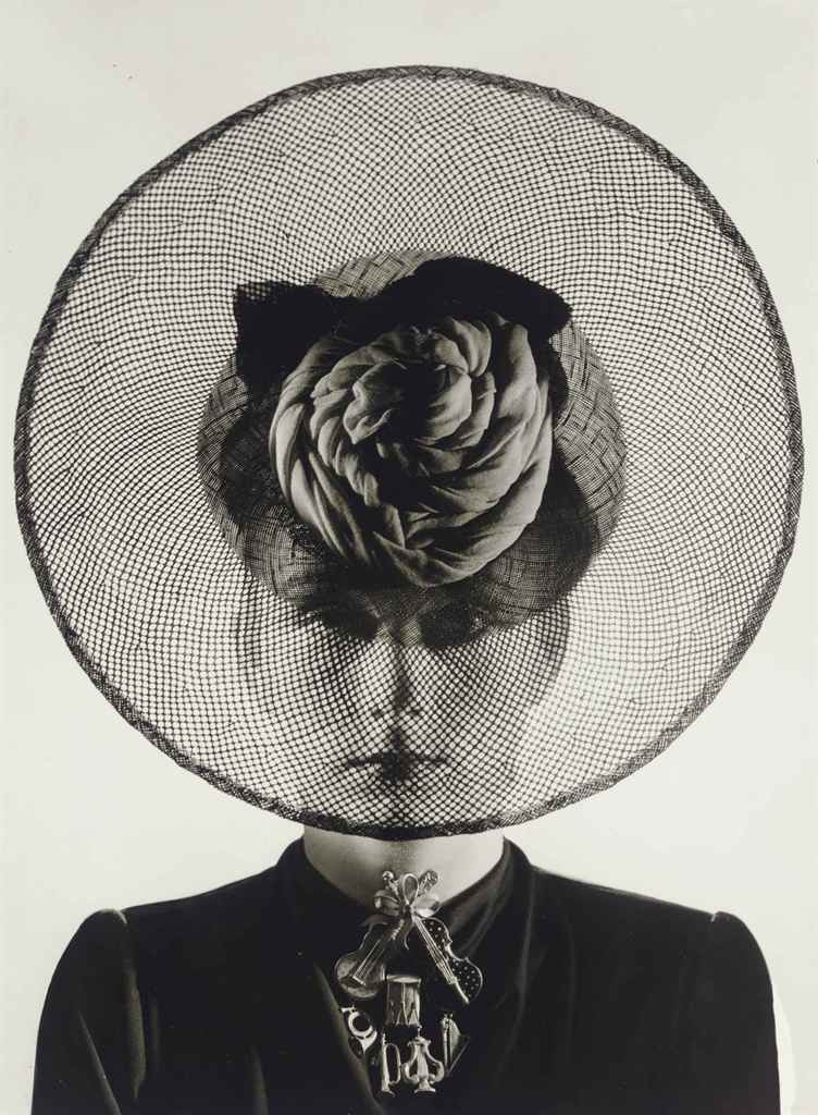 Hat and Jewelry, probably by Schiaparelli, 1938