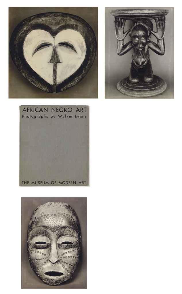 African Negro Art: Photographs by Walker Evans