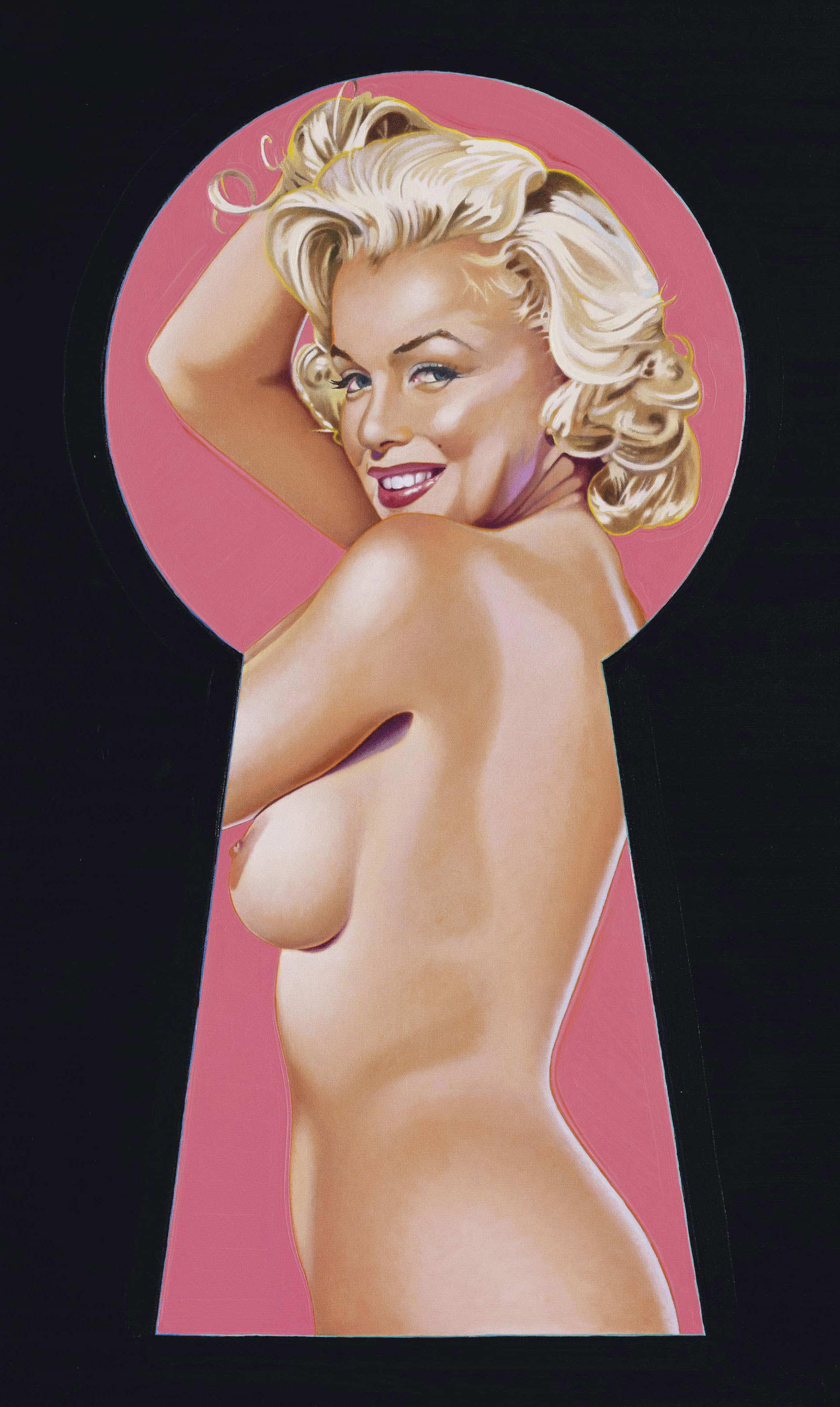 Peek-A-Boo Marilyn #2: Lost Painting of 1964