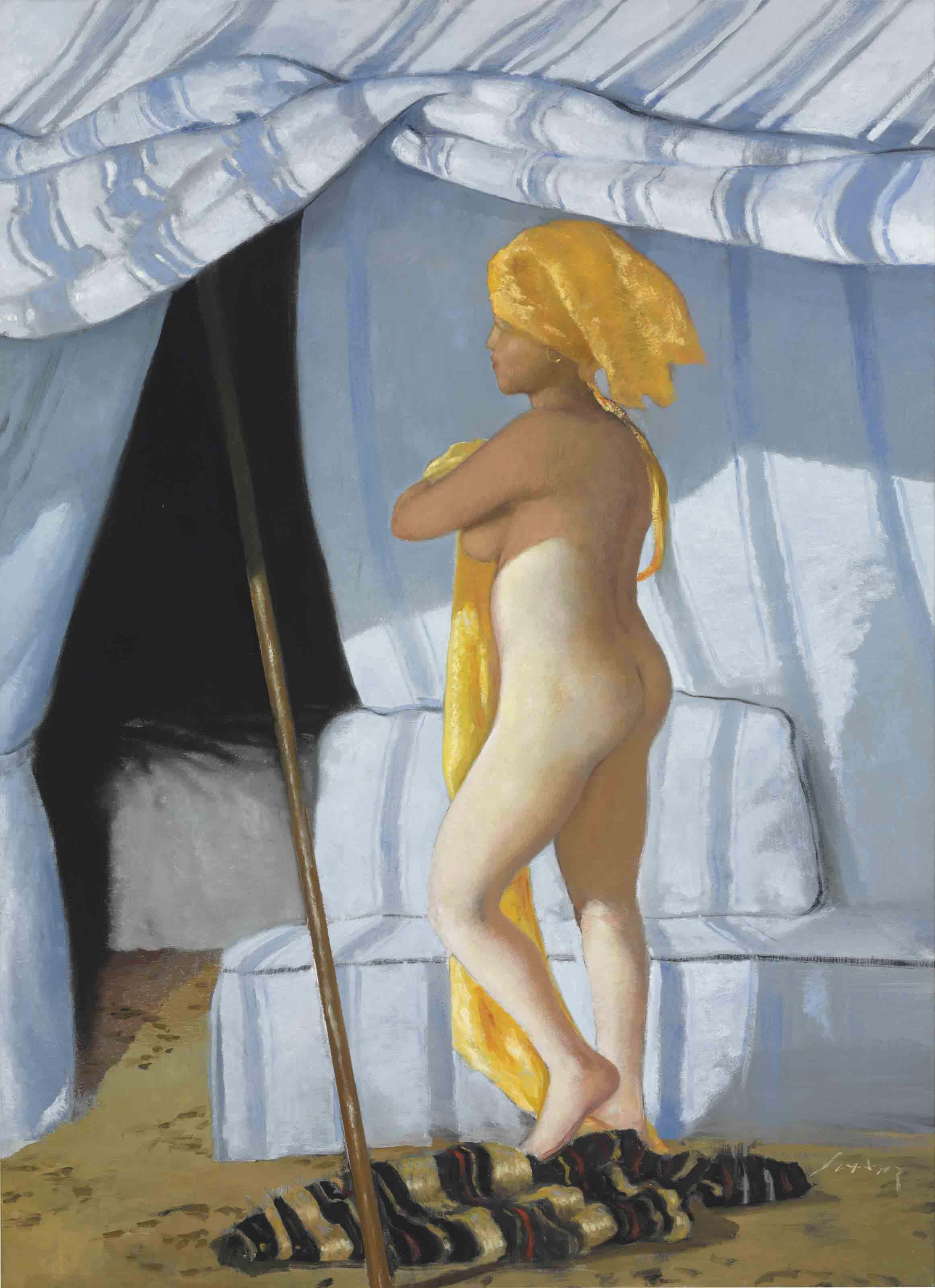Delacroix's Room
