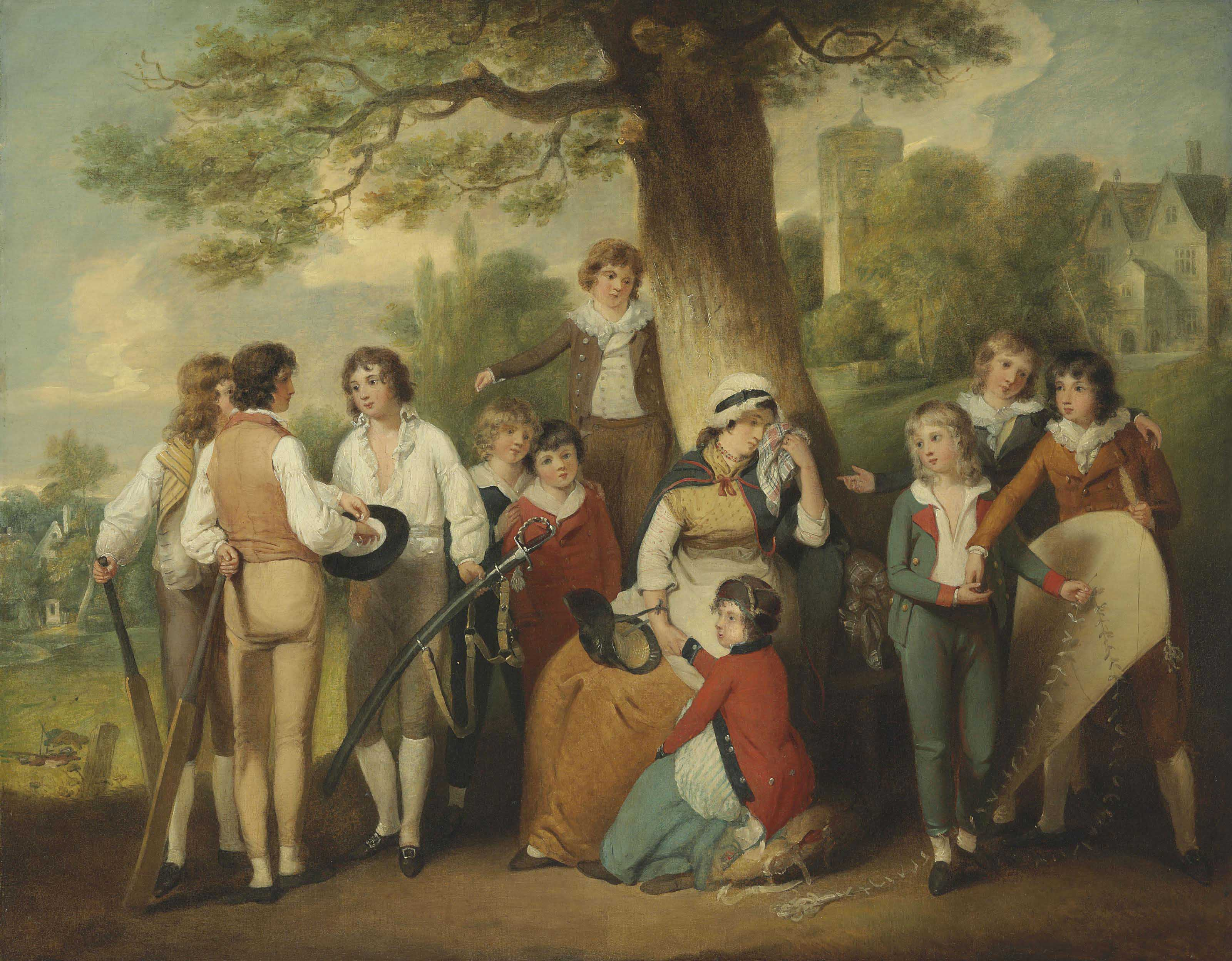 Generous Schoolboys (The Collection for a Soldier's Widow)