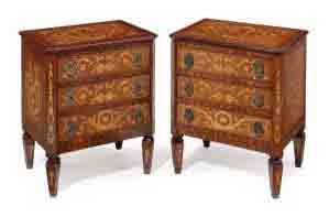 A PAIR OF KINGWOOD AND PARQUET