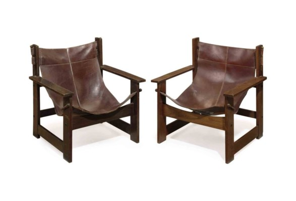 A SET OF FOUR SPANISH OAK AND