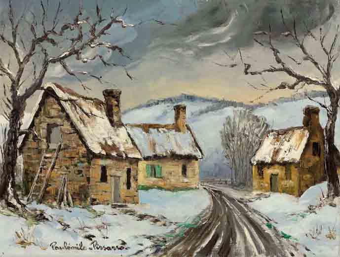 Village de la Bigne neige