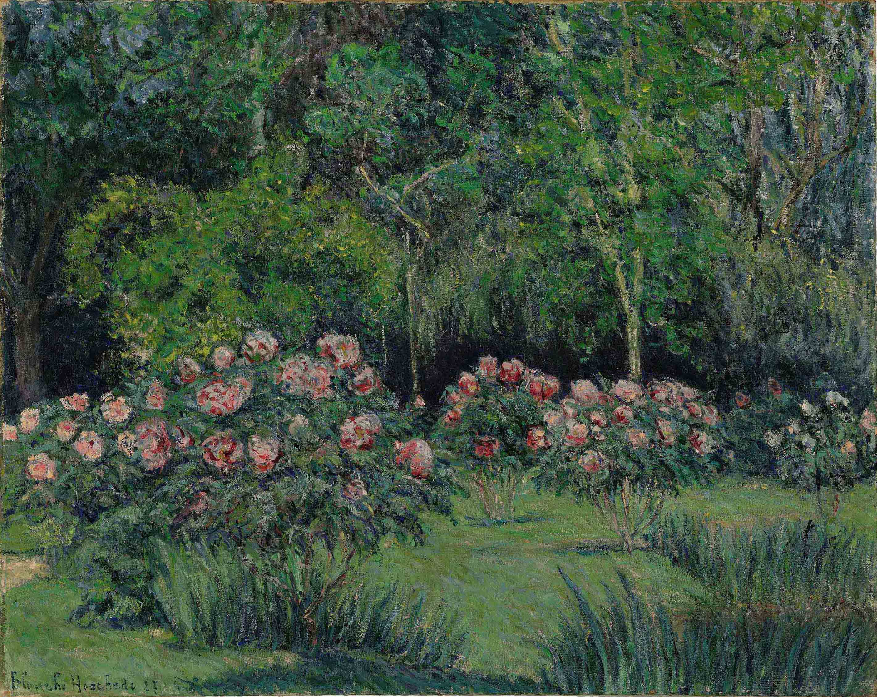 Le jardin à Giverny