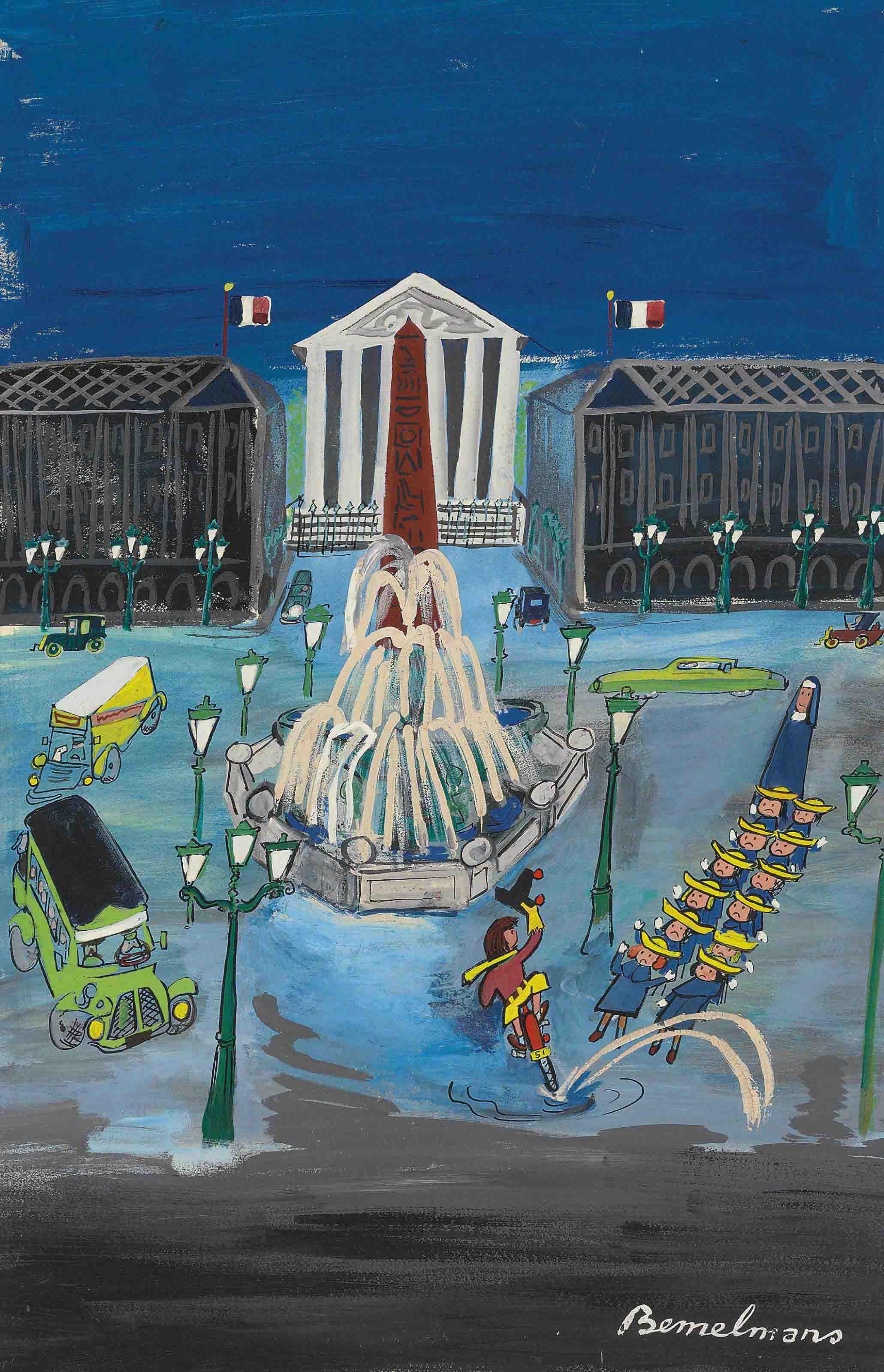 Jacket, Place de la Concorde