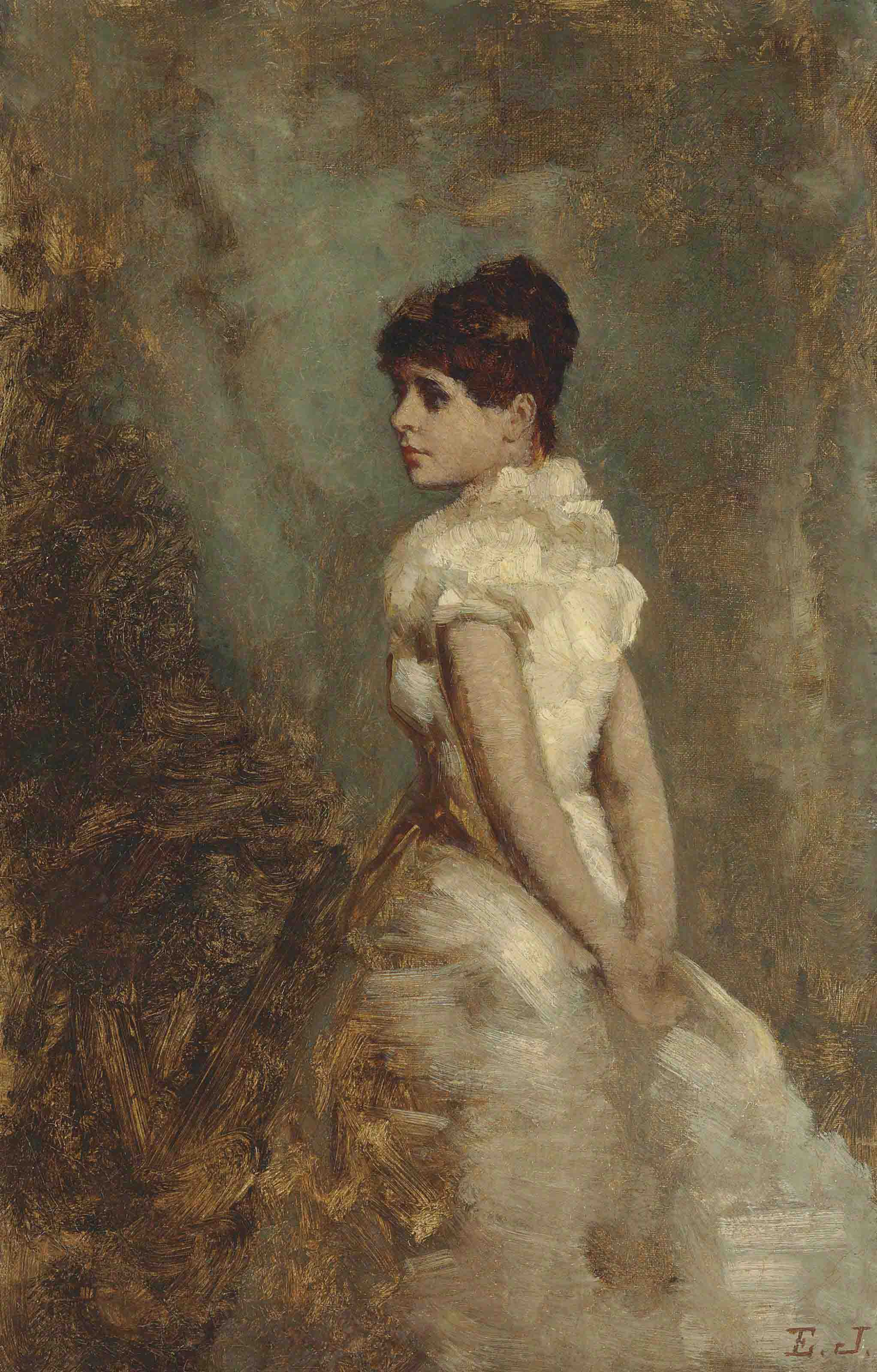 Lady in Yellow (Edwina Booth)