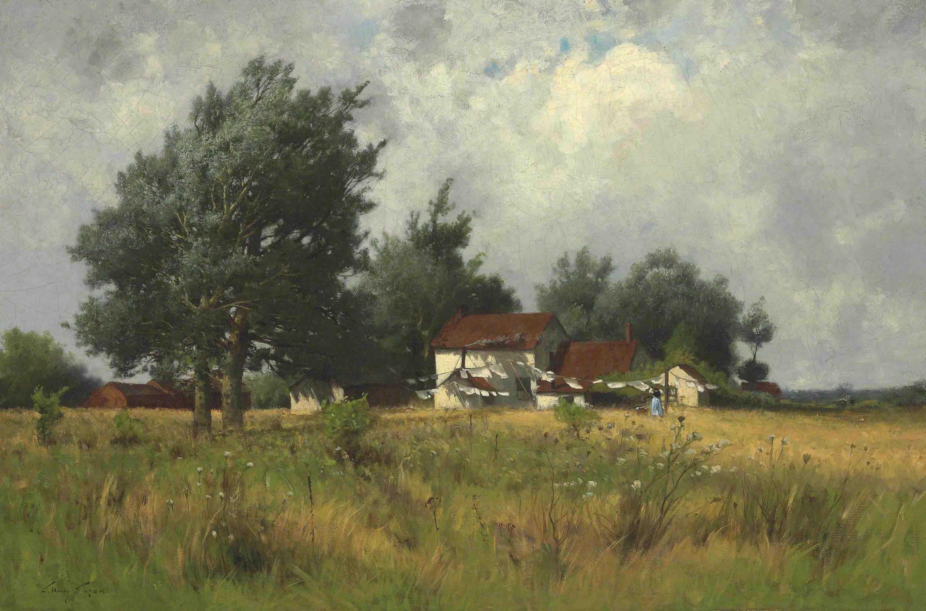 Farmhouse in a Landscape