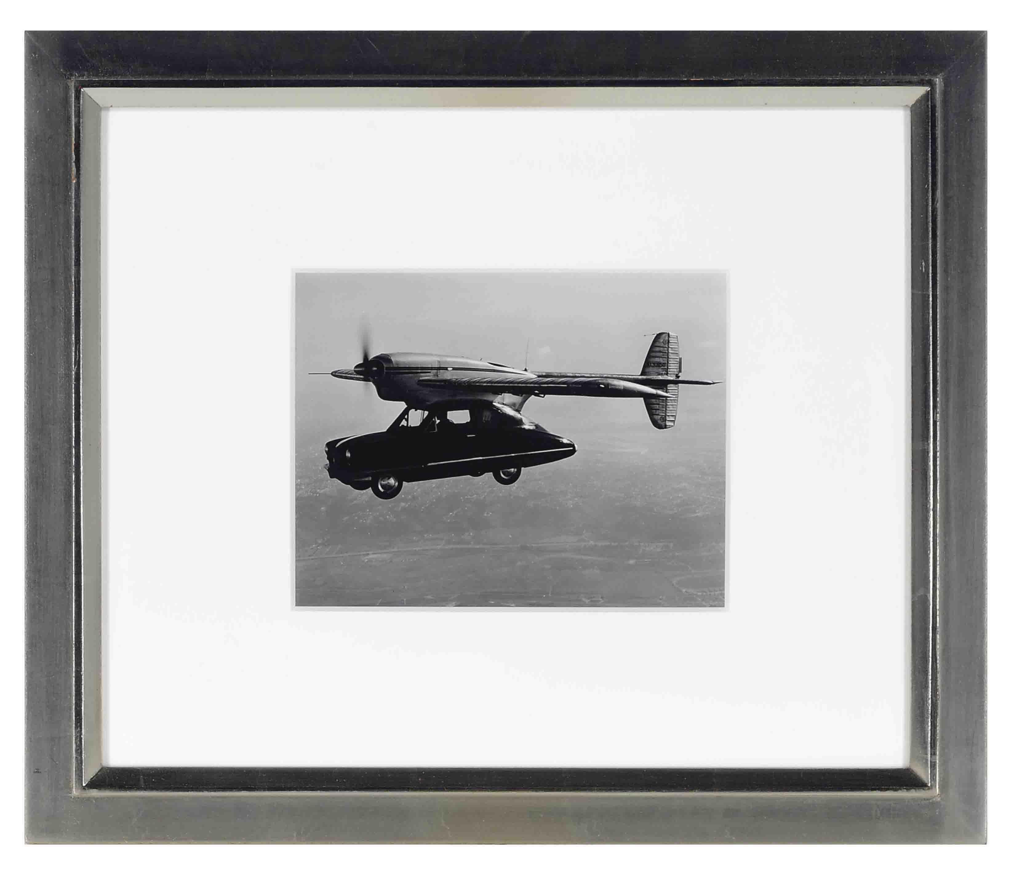Convoir Flying Auto over San Digeo, California Area, 1948