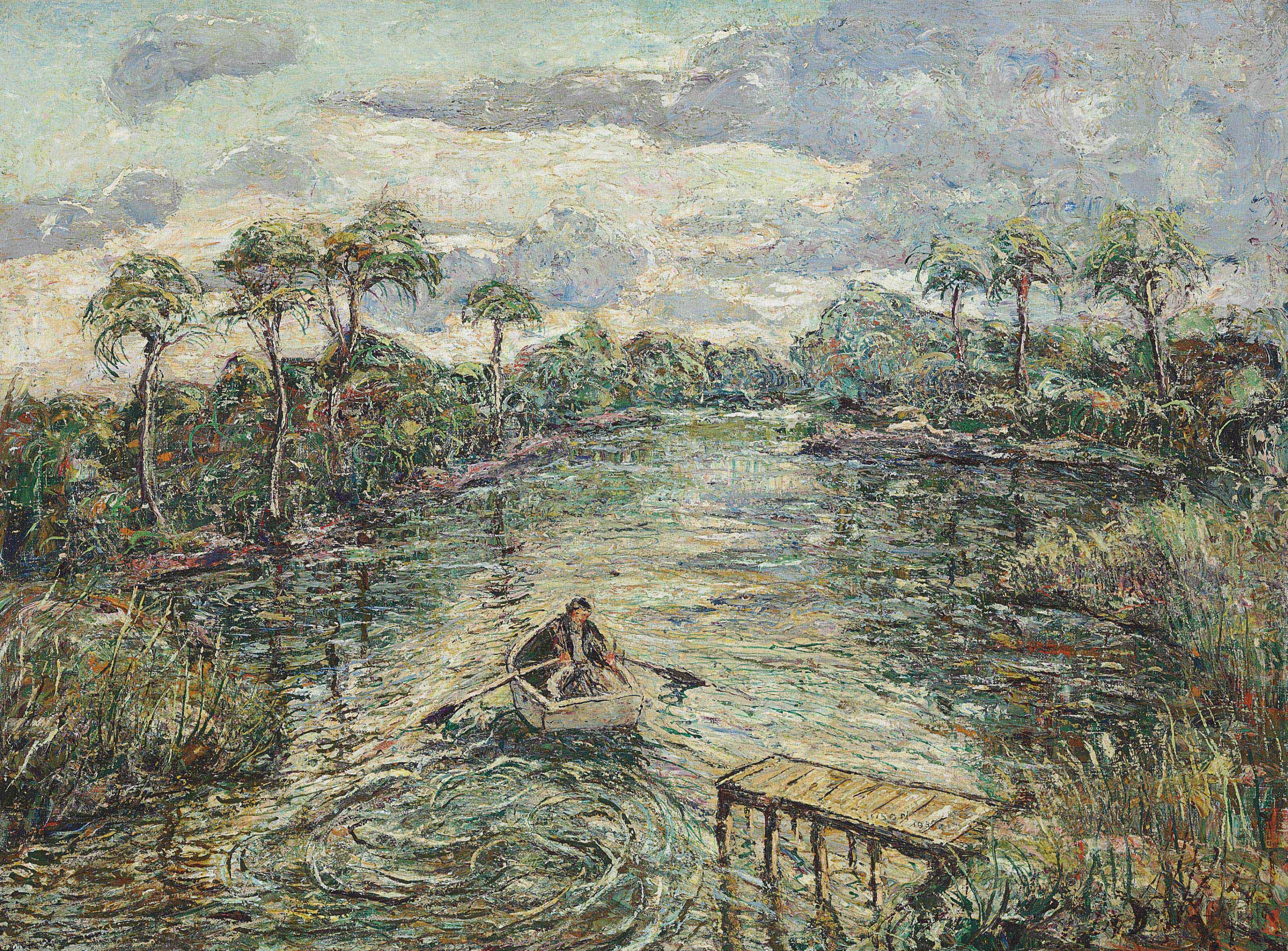 River Through the Everglades