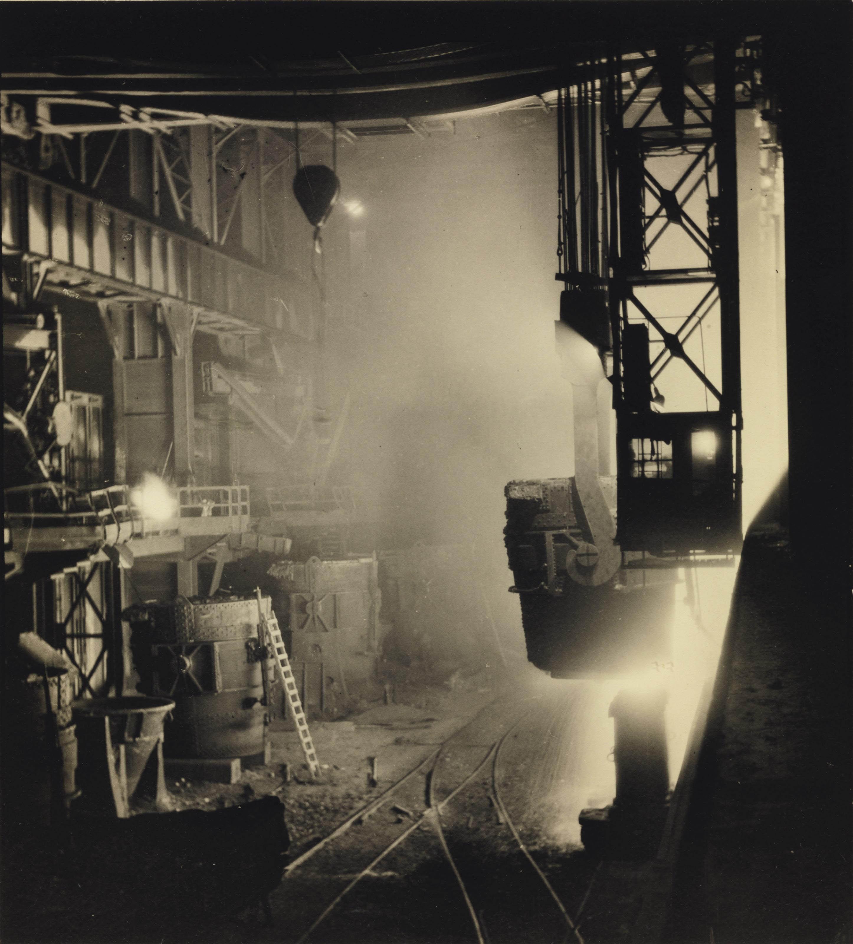Ladle B, Otis Steel Mill, Cleveland, 1930