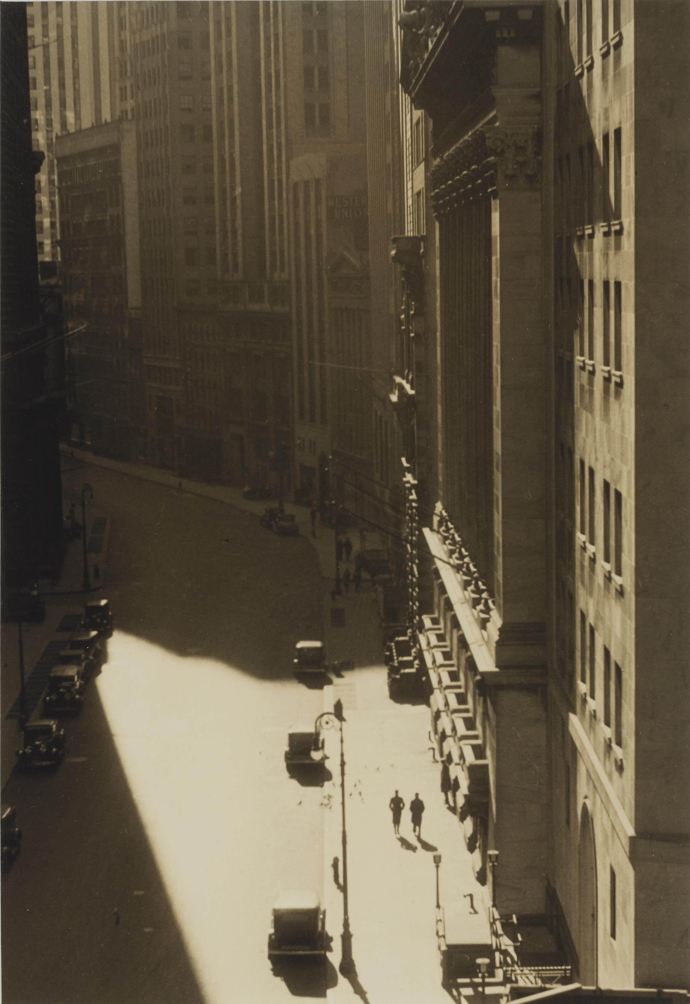 Exchange Place, c. 1930