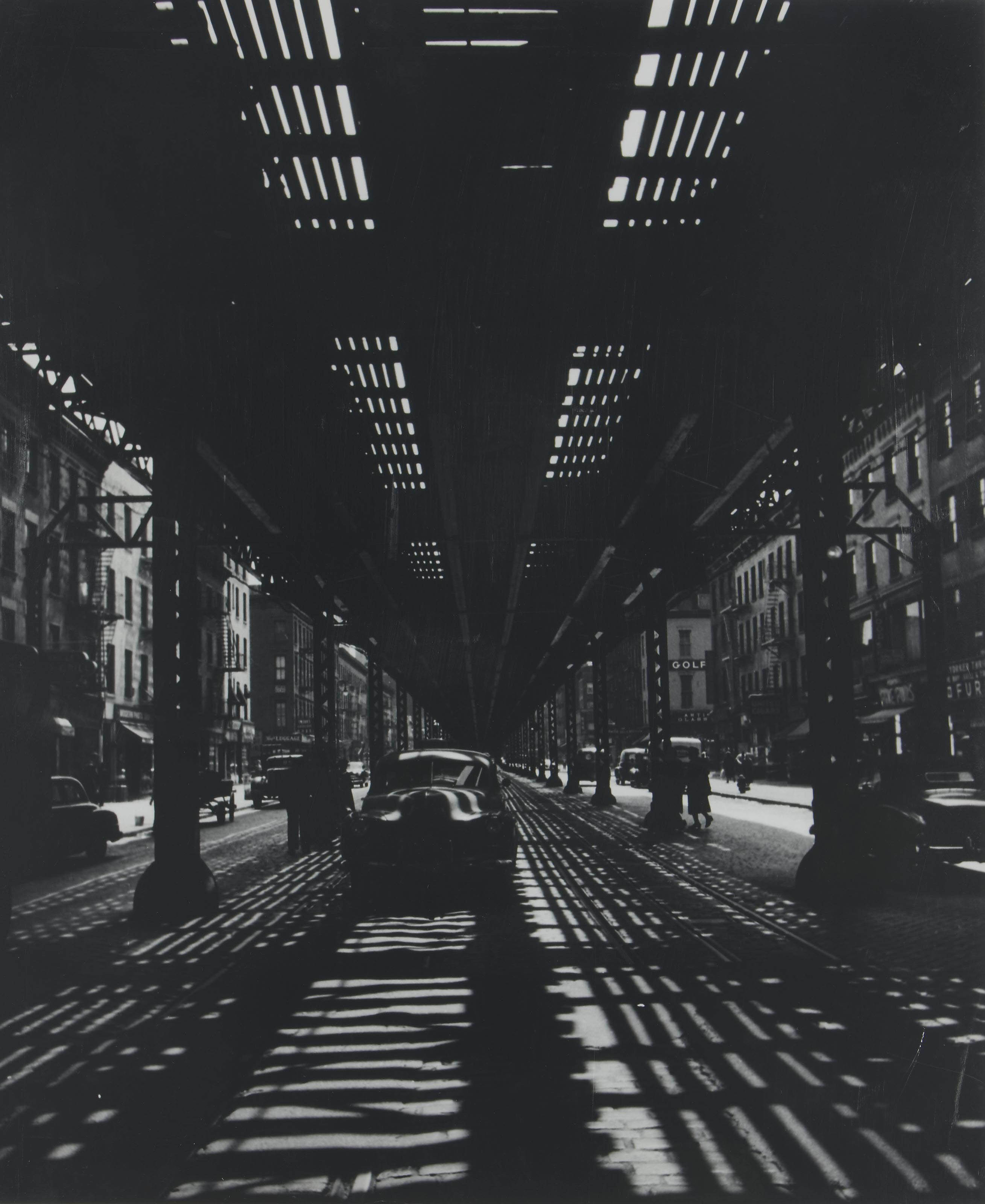New York, Third Avenue, 1952