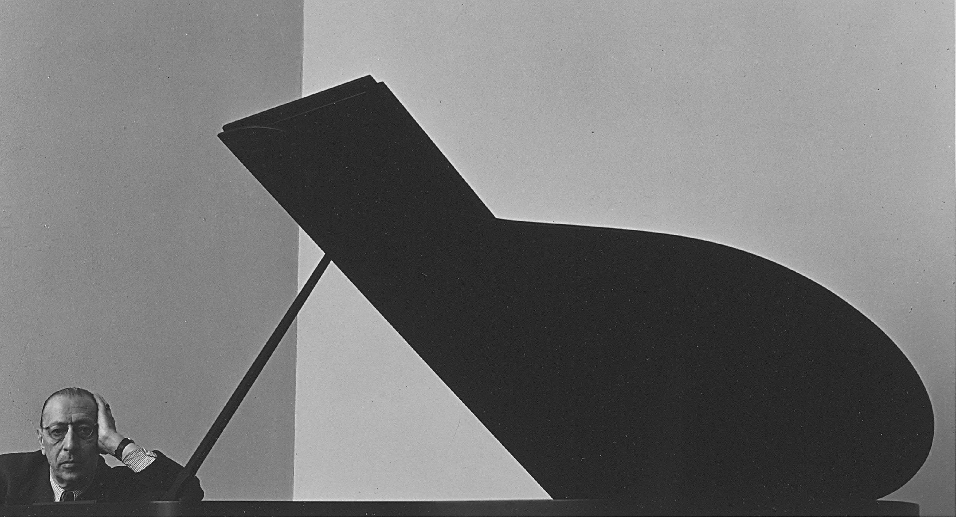 Igor Stravinsky, New York City, 1946