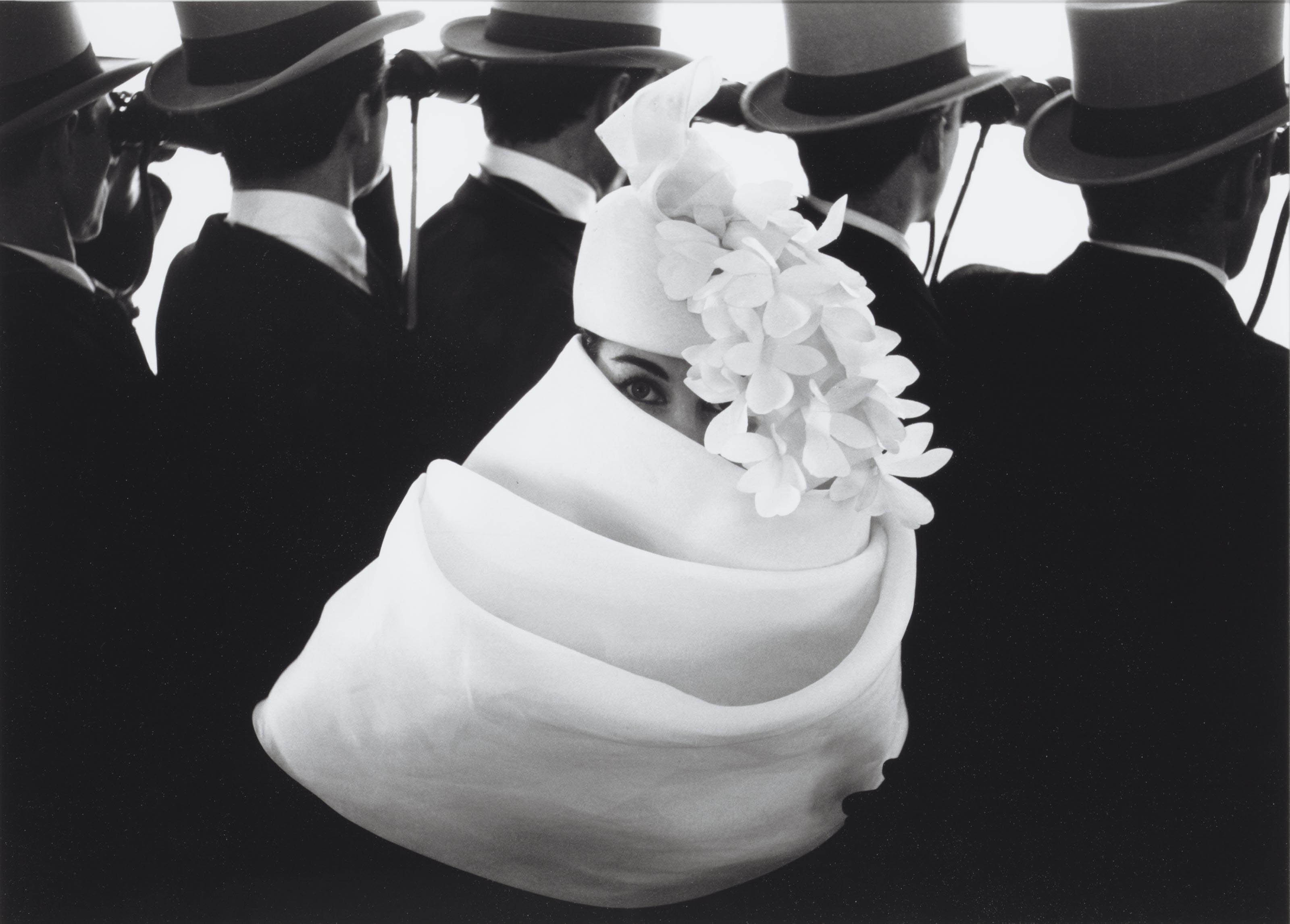 Givenchy, for 'Jardin des Modes', 1959