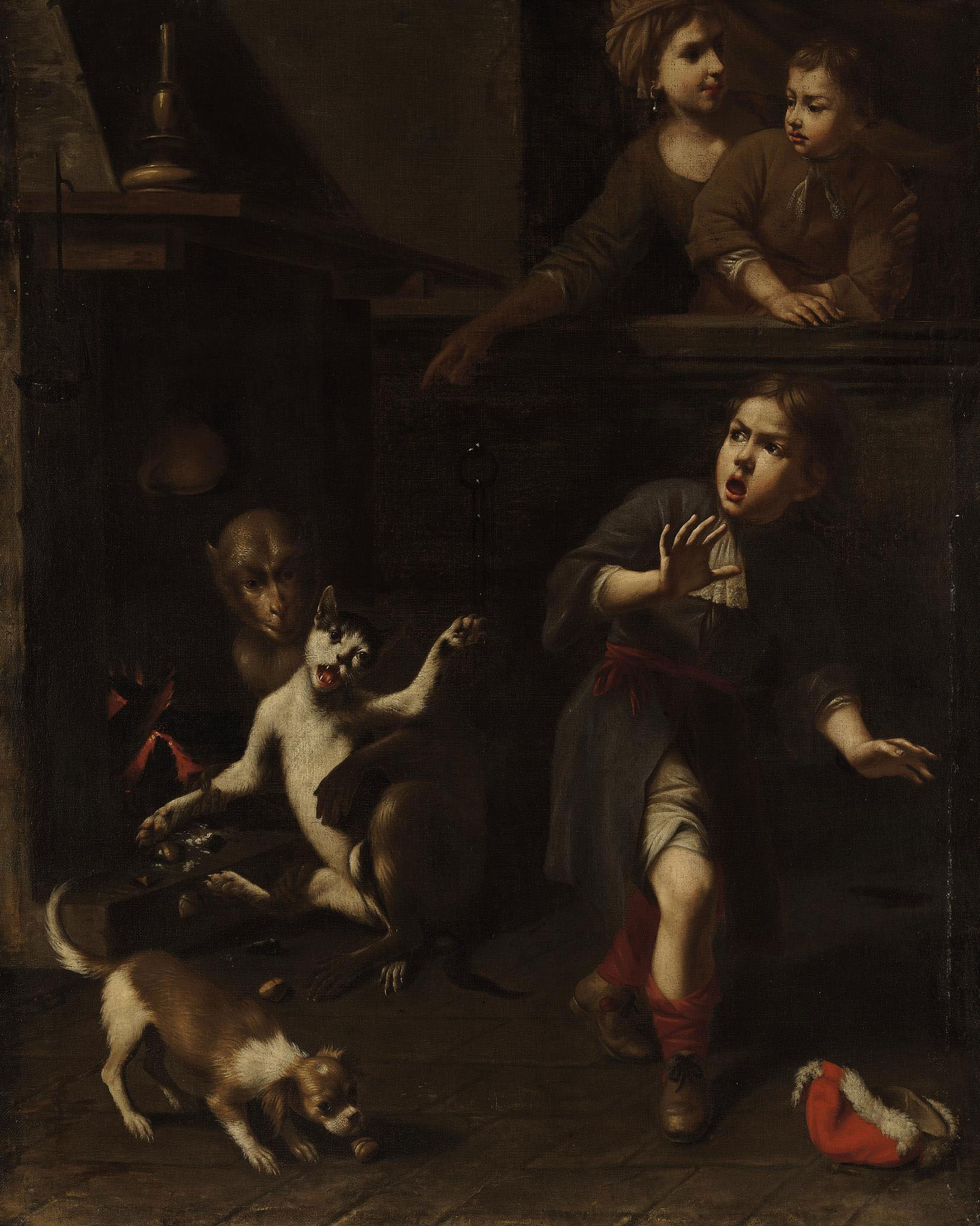 The Monkey and the Cat (Aesop's Fable)