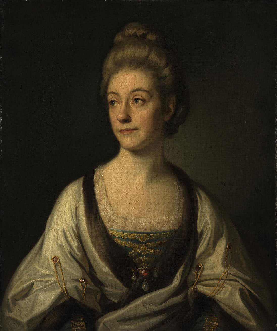 Portrait of the Duchess of Sutherland, half-length