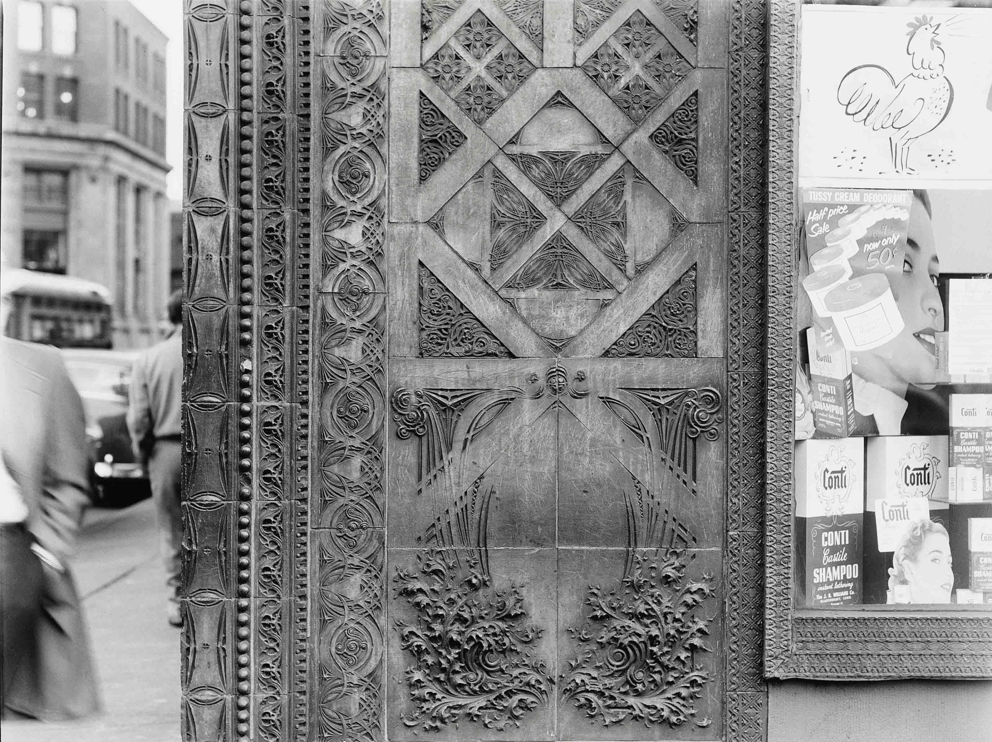 Prudential (Guaranty) Building, corner column, 1951-1952